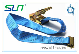 Cargo Lashing Straps with E Track Fittings on End pictures & photos