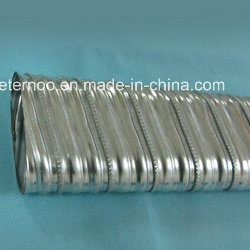 Spiral Corrugated Flat Duct Former Machine (0.4mm thick) pictures & photos