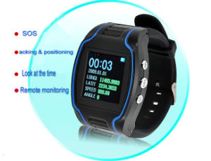 GPS Watch for The Old Man/Children, Remote Positioning to Protect Property Safety