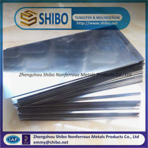 Molybdenum Plate, 99.95% High Purity Molybdenum Sheet, Molybdenum Plate pictures & photos
