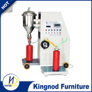 Automatic Stainless Steel Fire Extinguisher Powder Filler with Printer pictures & photos