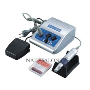 Electric Acrylic Nail Drill File Machine 30000 Rpm Sand Bits Manicure Kit Micro-Controlled