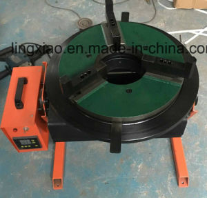 Ce Certified Digital Display Welding Turning Table Hbt-300 for Circular Welding pictures & photos