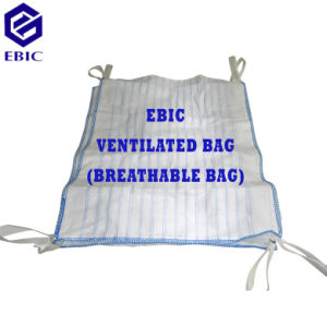 Ventilated Breathable Jumbo Bulk Big FIBC Bag for Filling Firewood pictures & photos