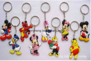 Hot Sales Cartoon PVC Rubber Promotion Gift Keychain pictures & photos
