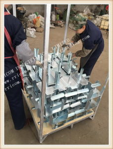 Galvanized Adjustable Supporting Scaffolding Steel Forkhead pictures & photos