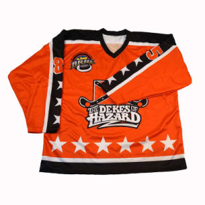 Sleeves Ice Hockey Jersey Hockey Uniform Jersey for Player pictures & photos