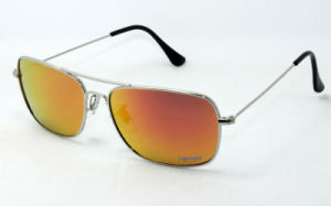 Square Metal Sunglasses and Hot Sale Eyewear in USA (150212FR) pictures & photos