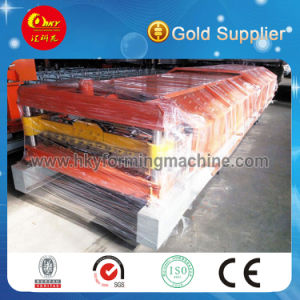 Automatical Roofing Sheet Roll Forming Machine pictures & photos