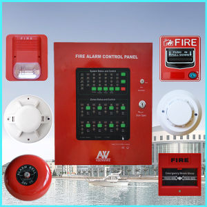 2 Loops 1-32 Zone Conventional Fire Alarm Control Panel (AW-CFP2166) pictures & photos