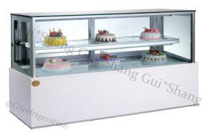 Square Cake Display Cabinet Refrigeration