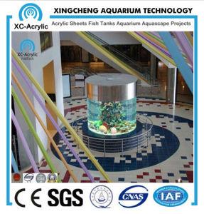 Round Acrylic Aquarium / Large Transparent Cast Round Acrylic Aquarium / Customized Acrylic Aquiarum for Oceanarium or Hotel / China Hot Sale Acrylic Aquarium pictures & photos
