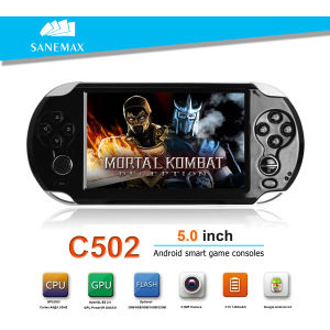 WiFi Android Game Console 5-Inch Touch Screen Multimedia Player (C502)