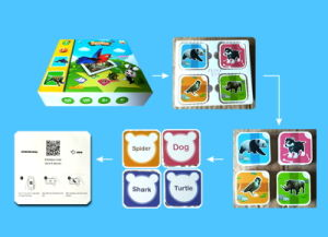 Professional Direct Custom Logo and APP Education Ar Card for Kids Pre-Primary Education pictures & photos