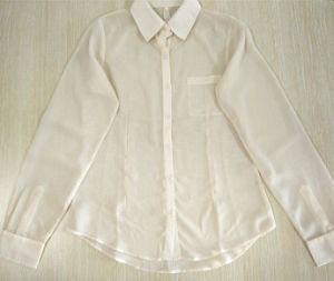 Women Fashion Clothes Casual Long Sleeve Shirt Garment pictures & photos