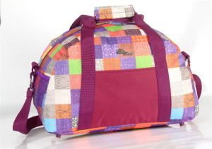 Fashional Design Printing Duffle Bag with Adjustable Strap pictures & photos