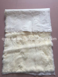 Natural and Thick 100% Real Rabbit Fur Plate for Garments pictures & photos