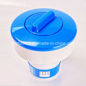 China Swimming Pool Spa 5 Floating Chlorine Bromin Chemical Tablet Dispenser China