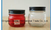 Colorful Glass Maosn Jar Without Handle and Straw pictures & photos