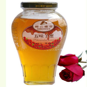100% Natural Pure Raw Best Schisandra Bee Honey