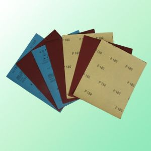 Aluminium Oxide Waterproof Abrasive Paper (FPS60) pictures & photos