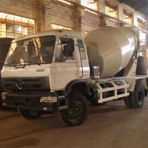 3 Cubic Meter Tank Concrete Mixing Truck pictures & photos