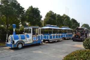 China, Indoor, Outdoor, Shopping Malls, Amusmnet Parks, Tourist, Sightseeing Trackless Fun Train pictures & photos