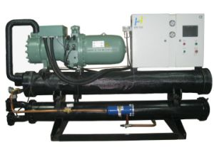 Water Cooled Low Temperature Screw Chiller pictures & photos