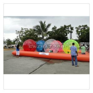 Summer Recreation Water Game Water Walking Ball Combination of Inflatable Pool