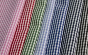 2mm Classical Checks Polyester Cotton Shirt Fabric pictures & photos