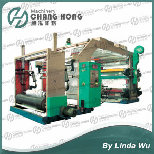 Roll to Roll Paper Flexo Printing Machine (CH884 Series) pictures & photos