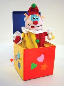 Customized Lovely Plush Jack in The Box with Custom Music pictures & photos