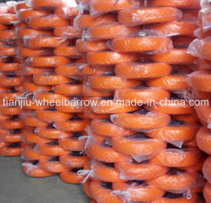 PU Foam Wheels Used in Wheelbarrow with 16inch 4.00-8 Straight Line pictures & photos