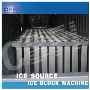 Shipping Installed SGS Certification Containerized Block Ice Machine (MBC80) pictures & photos