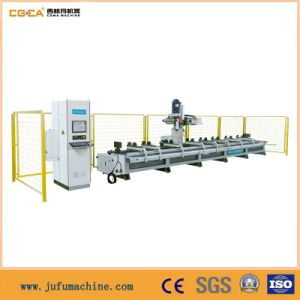 High Speed Double Worktable Jinan Window Machine with pictures & photos