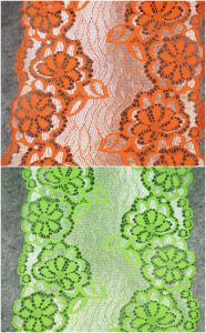 High Quality Stretch Flower Lace for Garment Accessories pictures & photos