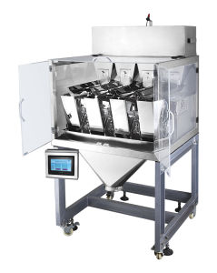 4 Head Linear Weigher for Weighing Grain pictures & photos