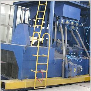 Automatic Metal Structure Shot Blast Cleaning Machine pictures & photos