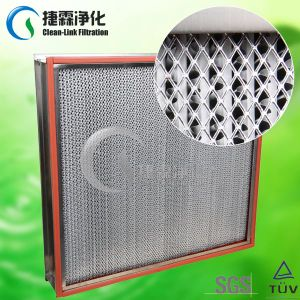 Pleated Ventilation System Filter HEPA pictures & photos