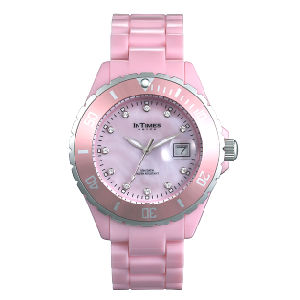 2014 New Watch with Mop Dial Sworovski Index at Low MOQ (IT-063)