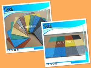 New Deisgn High Quality EPDM Compound Rubber Tile pictures & photos
