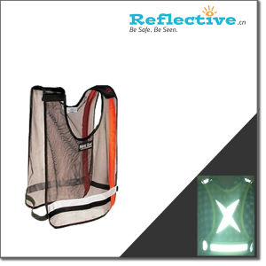Reflective Fluorescent Sport Safety Vest_Traffic Safety Vest pictures & photos