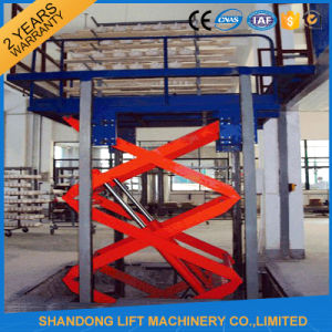 Warehouse Hydraulic Scissor Lift Rental pictures & photos