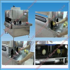 Electric Pineapple Fruit Peeling Machine / Expert Supplier of Fruit Peeling Machine pictures & photos