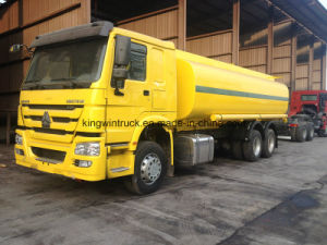 HOWO Two Units in Stock 25m3 Oil Tank Truck pictures & photos