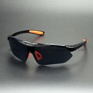 Black Nylon Frame PC Lens Safety Glasses (SG115) pictures & photos