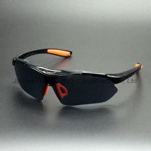Nylon Black Frame and Lens Safety Glasses (SG115) pictures & photos