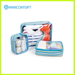 Custom Clear PVC Travel Cosmetic Bag pictures & photos