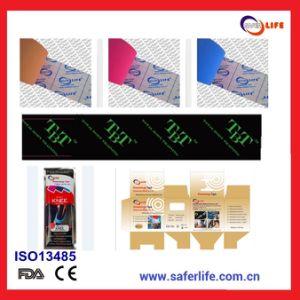 Pringting Logo OEM Kinesiology Adhesive Tape, OEM Sport Athlete Tape Manufacturer pictures & photos
