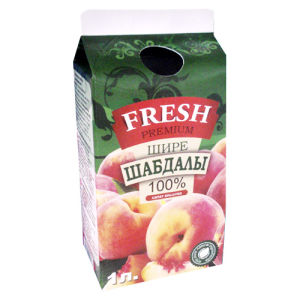 1750ml 6 Layer Juice Gable Top Carton pictures & photos